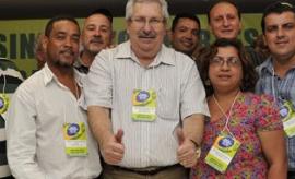 Participação da Fespumees no congresso da CSP