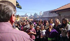 CSP reforça bandeiras em 1º de Maio no Paraná