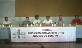 CSP marca presença em evento do Sindasse em Aracaju