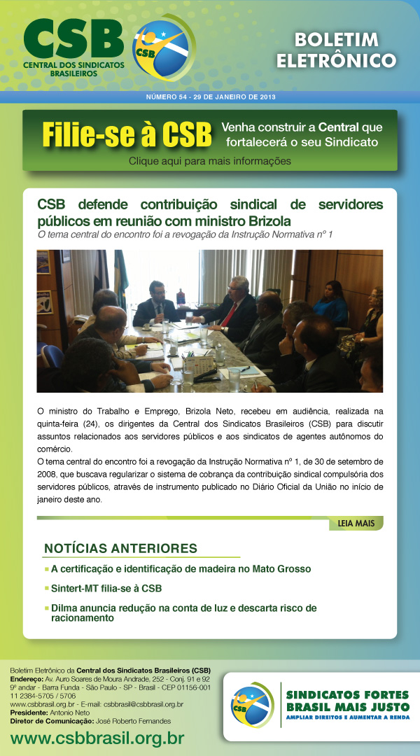 Boletim CSB 54