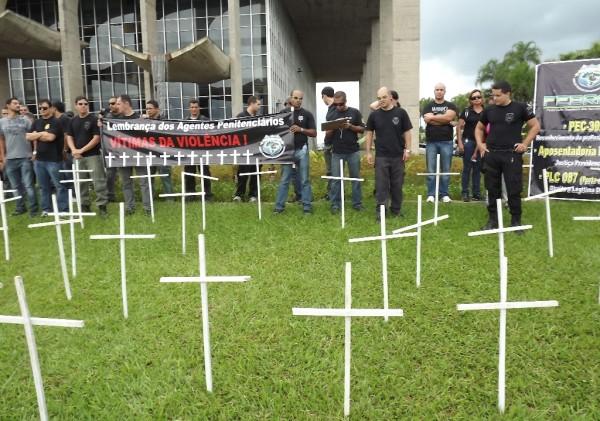CSB manifesta apoio à luta dos agentes penitenciários