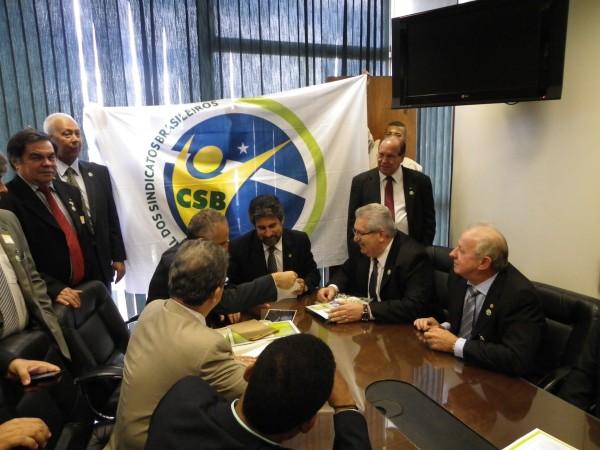 Início da ação da CSB em Brasília é marcado por importantes encontros
