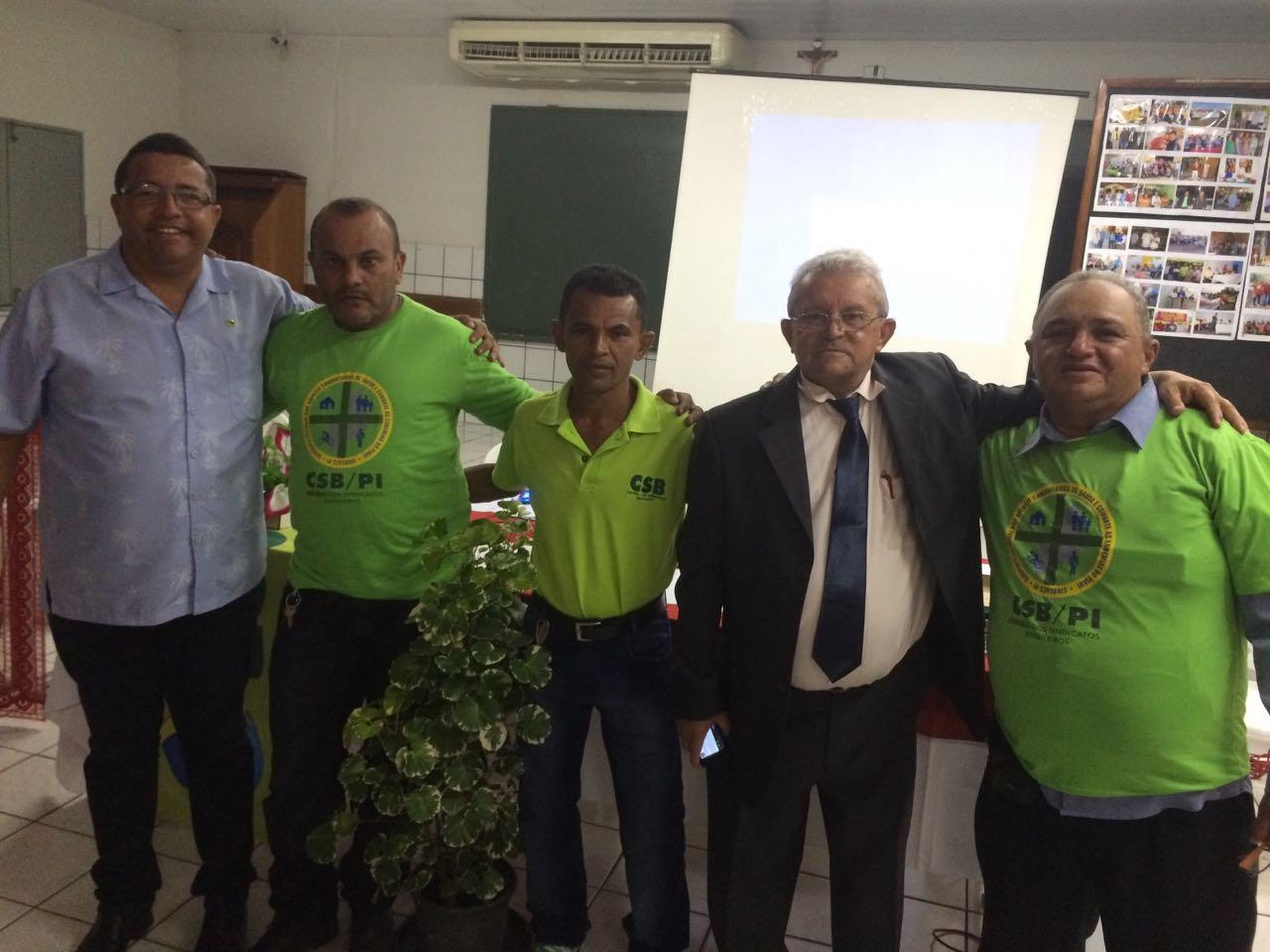 CSB participa do 10º Encontro Estadual dos Agentes de Saúde do Piauí