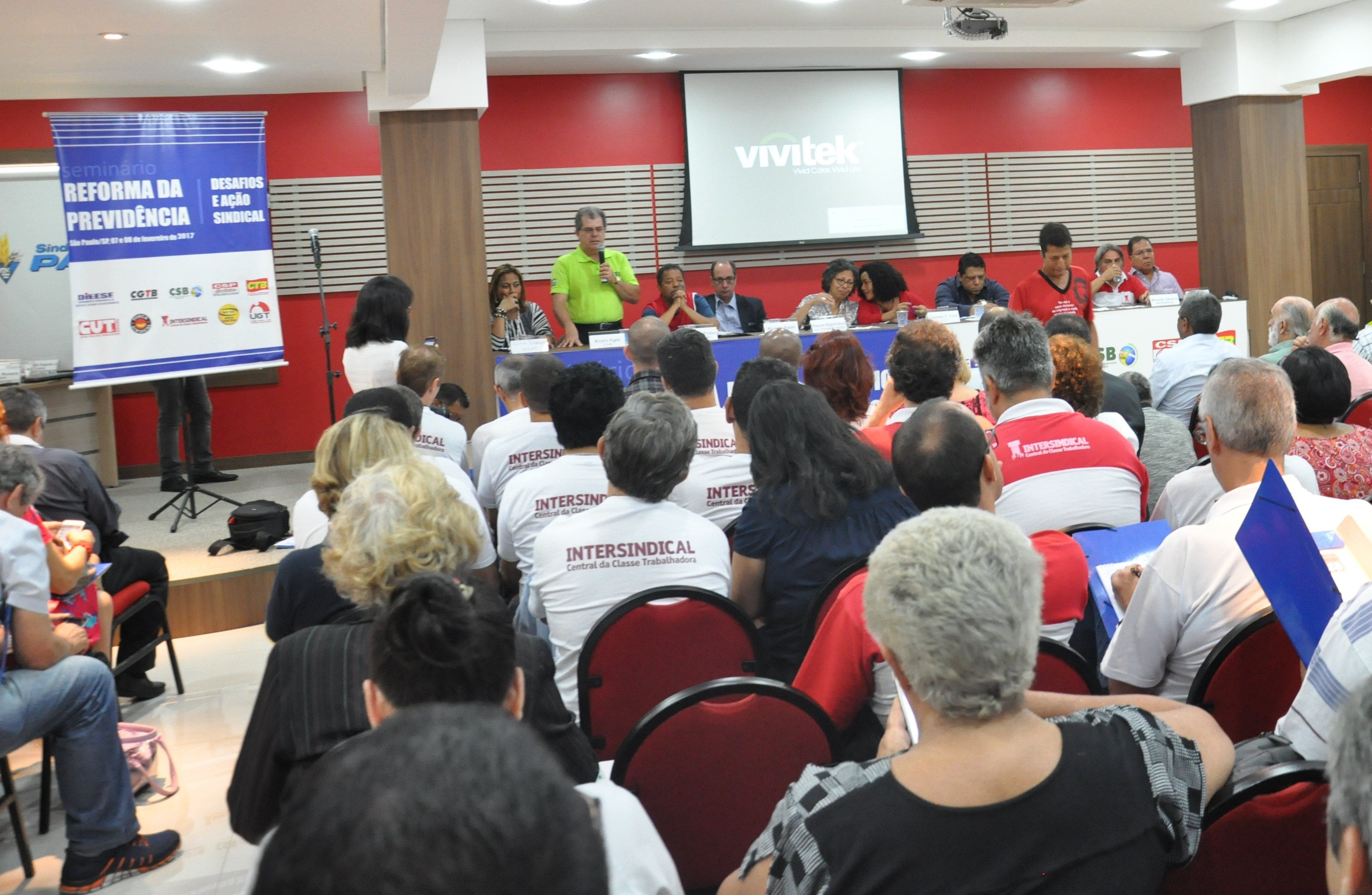 """Seminário Reforma da Previdência – """"Desafios e ação sindical"""""""
