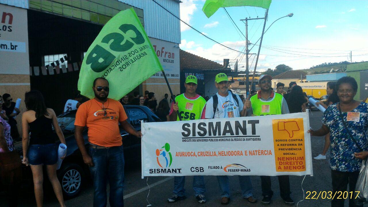 Trabalhadores de Minas Gerais e Ceará se mobilizam contra a Reforma da Previdência