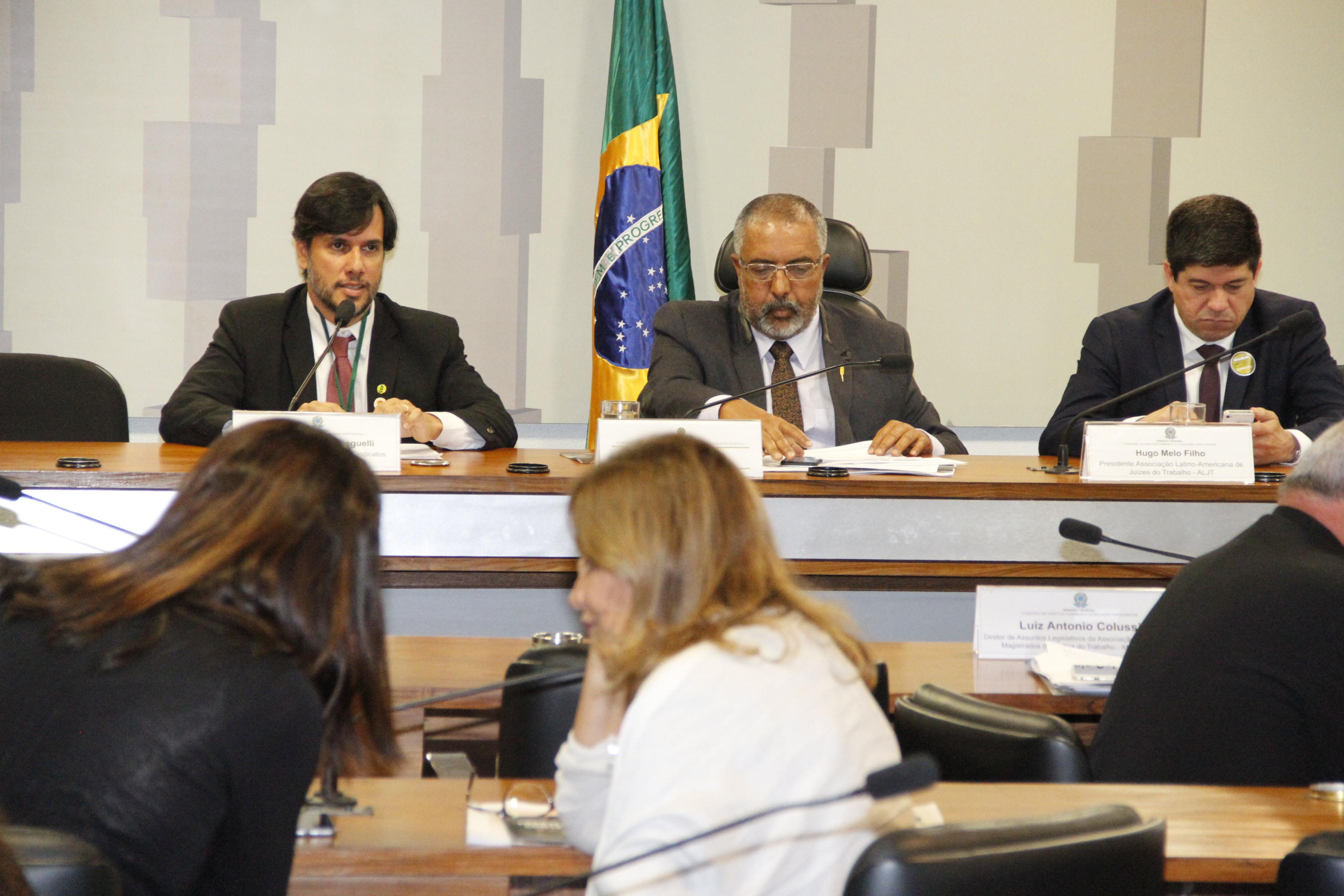 CSB debate pontos sensíveis das reformas da Previdência e Trabalhista no Senado