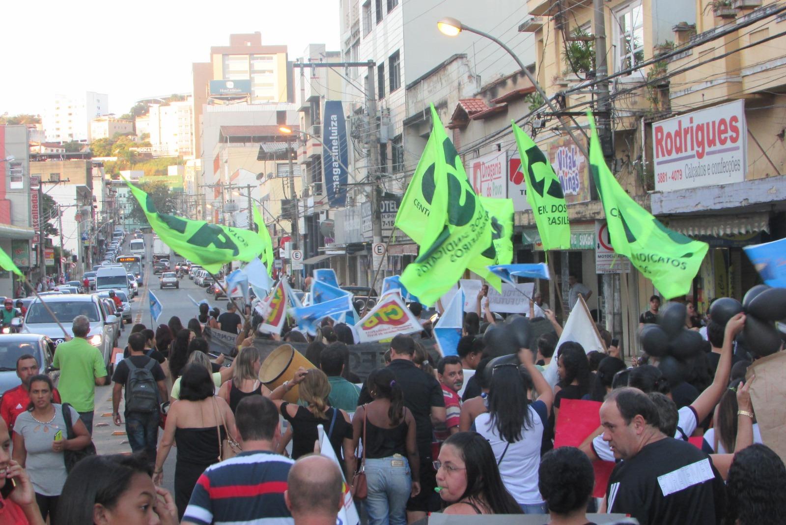 Sindicatos filiados à CSB fazem manifestações contra a PEC 287 em todo o Brasil