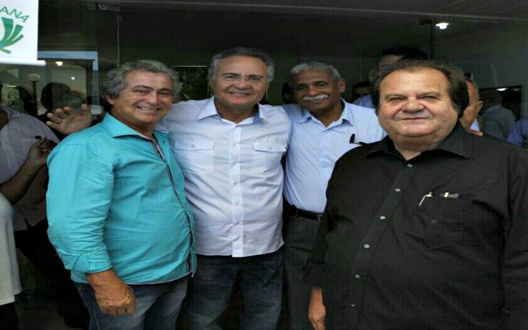 Representantes dos servidores federais de Alagoas se reúnem com Renan Calheiros