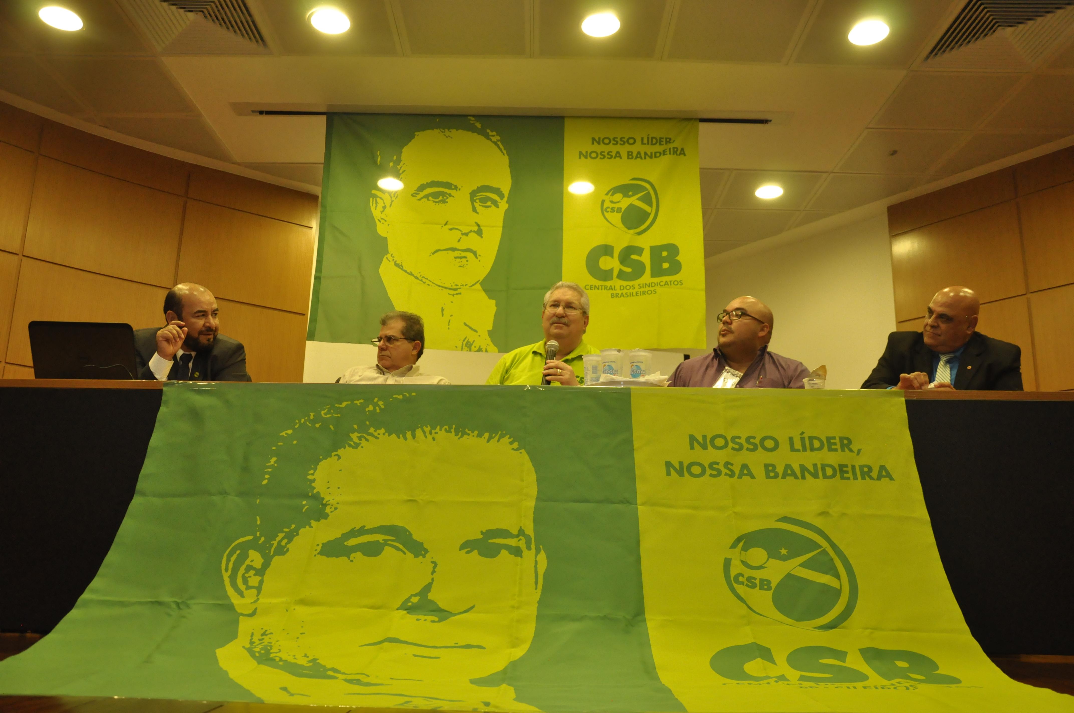 CSB reúne sindicatos de São Paulo para preparar a greve geral de 28 de abril