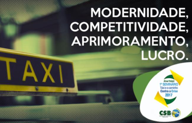CSB e SindTaxi promovem em Santos evento para debater o futuro dos taxistas no Brasil