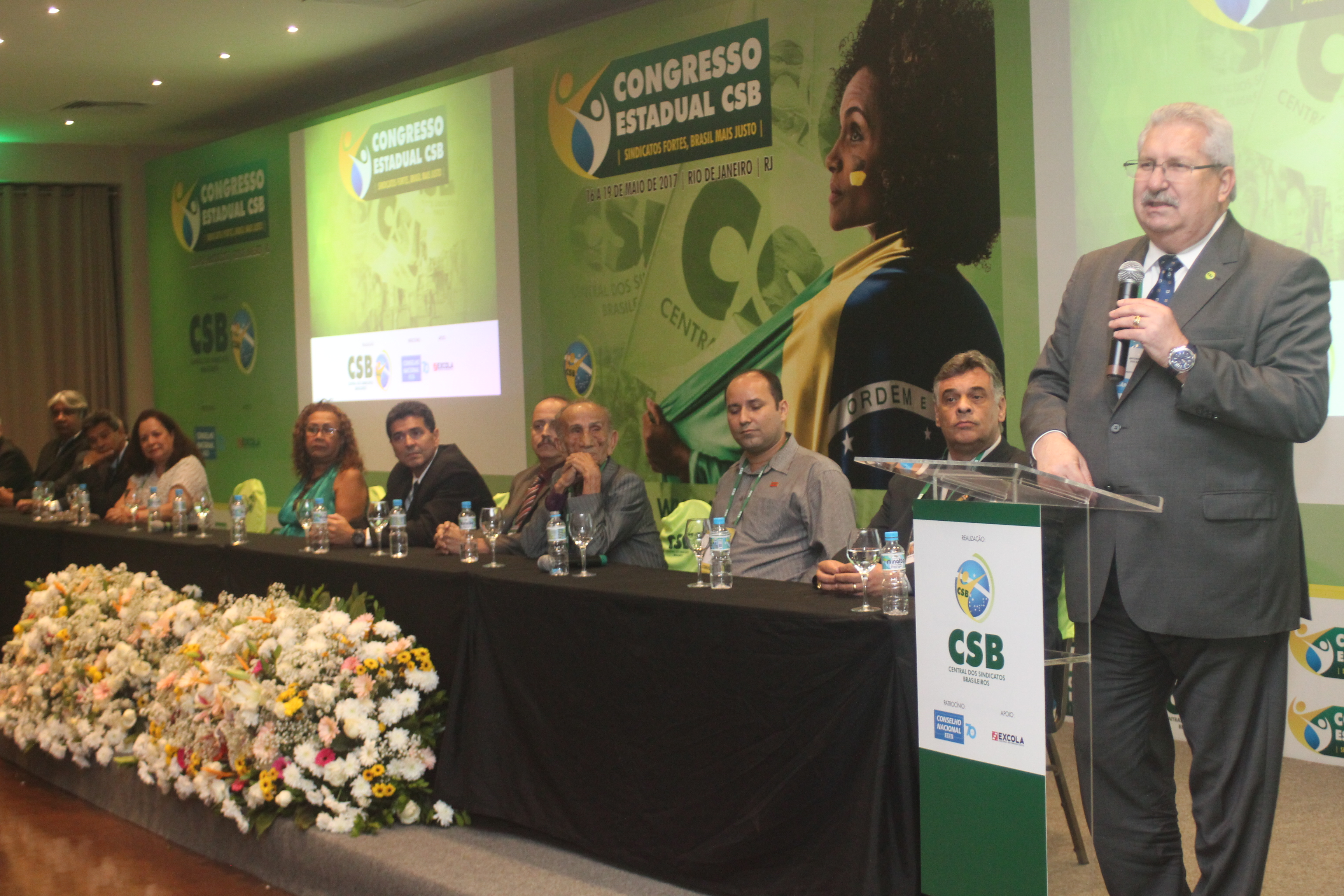 Congresso Estadual do Rio de Janeiro inicia para ampliar a luta da CSB contra as reformas