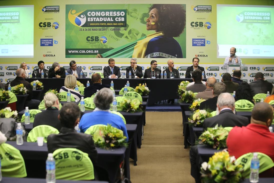 Para fortalecer a união dos sindicatos contra os retrocessos, tem início o Congresso Estadual do Paraná