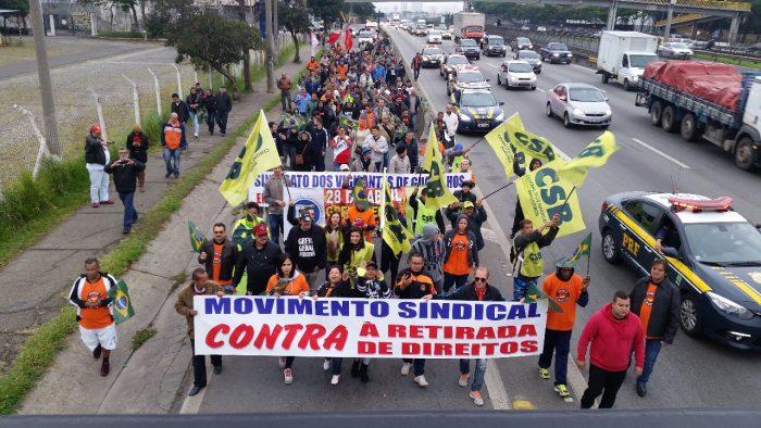 Centrais sindicais organizam nova Greve Geral para junho