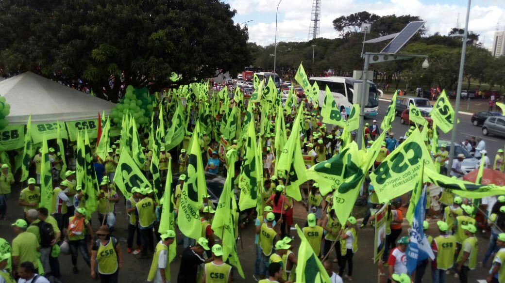 Marcha das Centrais – 24 de maio – Ocupa Brasília