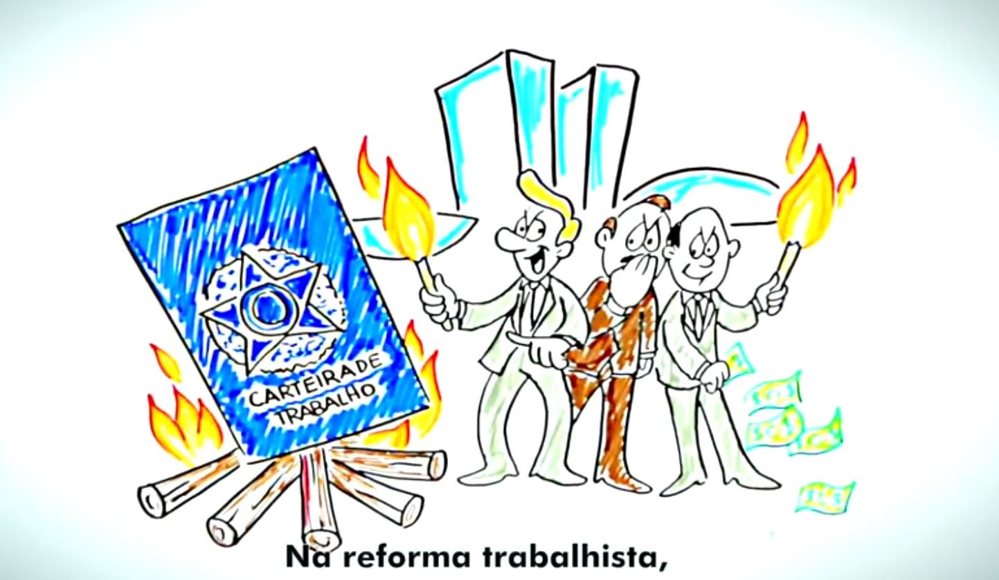 Vídeo produzido pela CSB expõe a verdade sobre as reformas