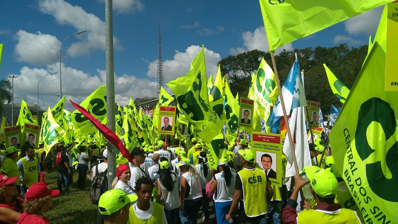 Centrais sindicais realizam Dia Nacional de Mobilização Rumo à Grave Geral