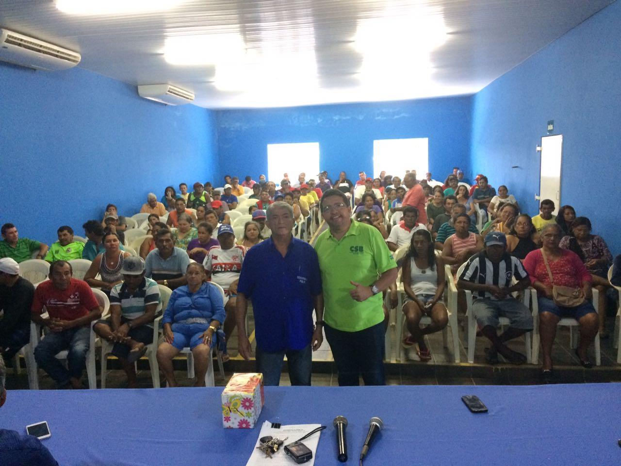 Por unanimidade, pescadores de Parnaíba (PI) aprovam filiação à CSB