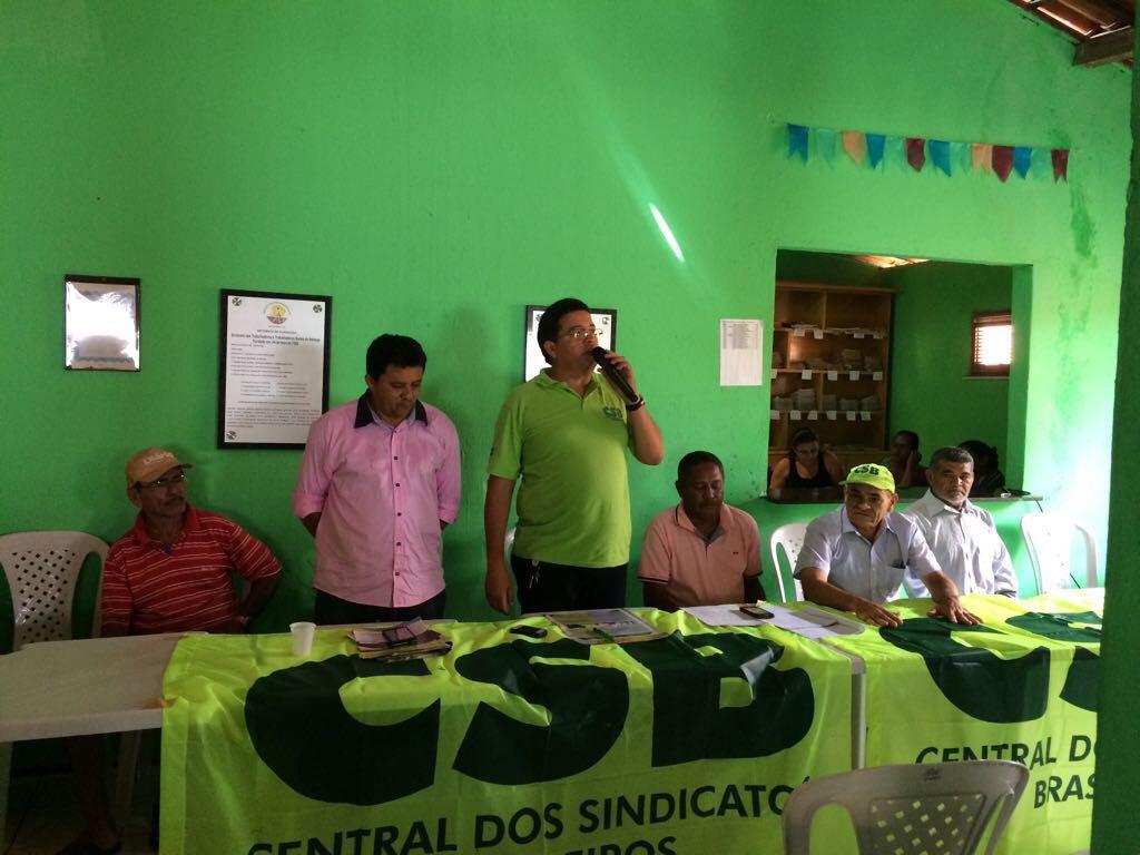 CSB e Sindicato dos Trabalhadores Rurais de Itaitinga debatem reformas em assembleia