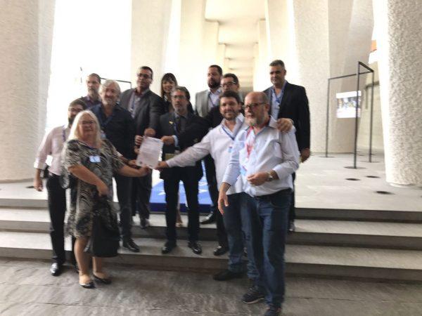 Centrais pedem apoio da OIT contra a aprovação da reforma trabalhista no Brasil