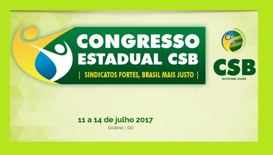 Inscrições para Congresso Estadual de Goiás já estão abertas