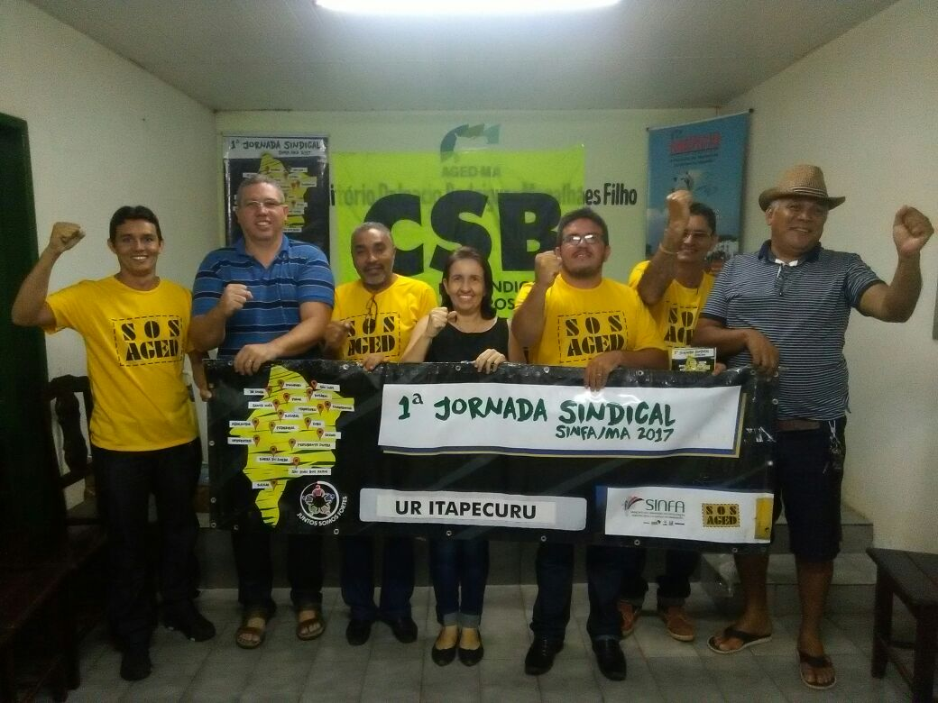 Com objetivo de capacitar sua base, Sinfa-MA promove primeira edição de jornada sindical