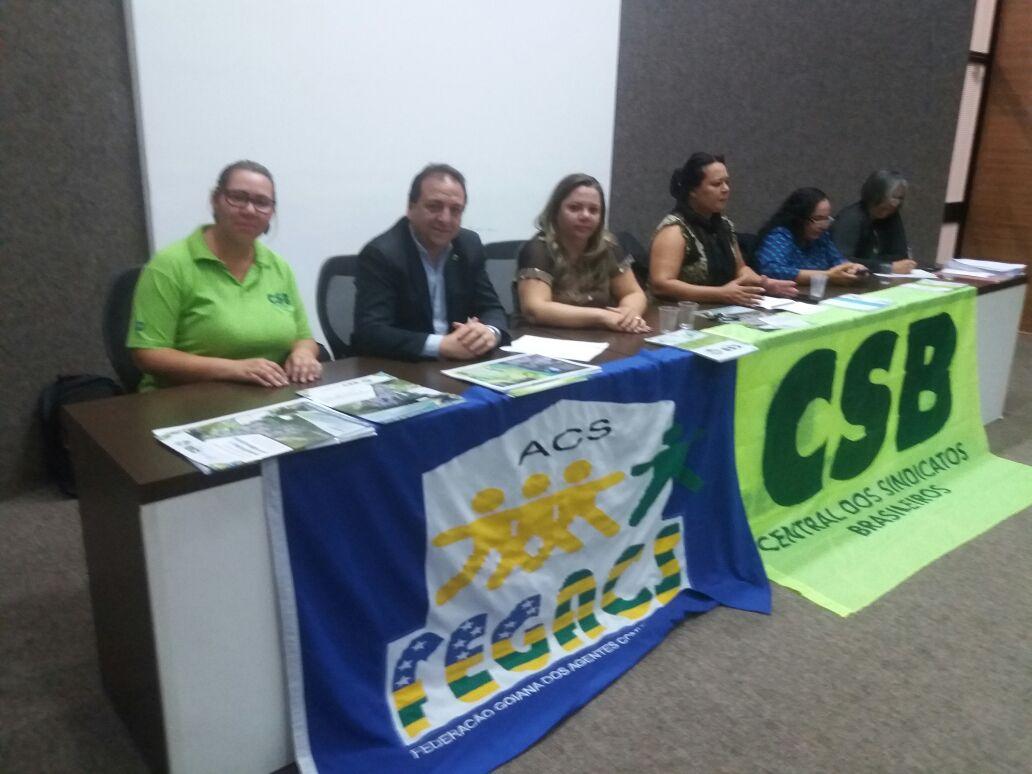 Com apoio da CSB, agentes comunitários de Saúde de GO fortalecem a representação da categoria
