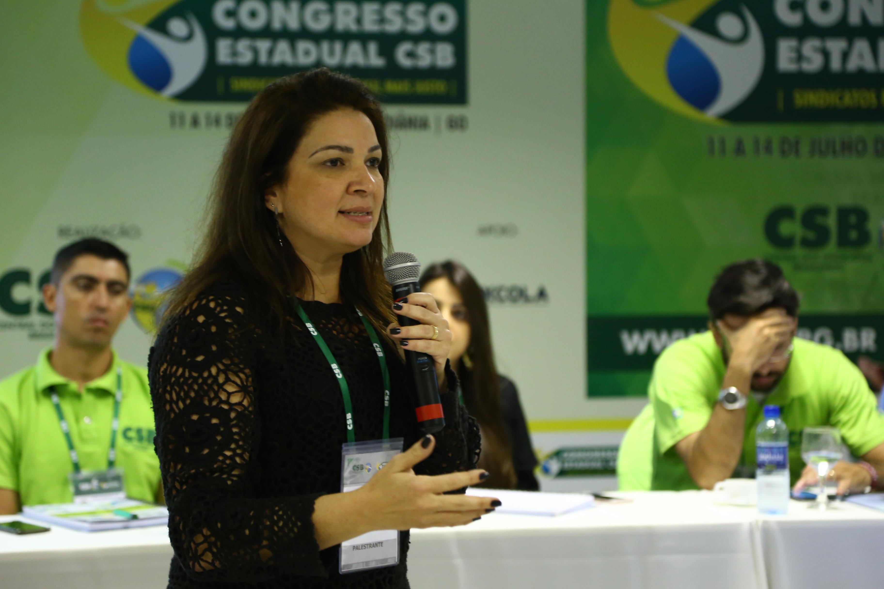 Palestra de Zilmara Alencar– Congresso Estadual CSB Goiás – 12 de julho | 2017