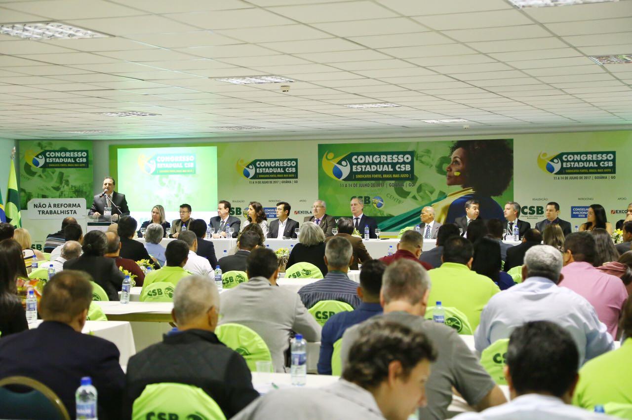 Em Goiás, CSB conclama os trabalhadores para a grande virada contra os retrocessos