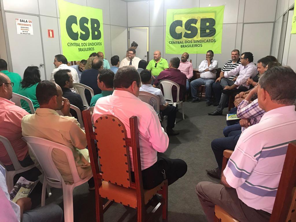 Encontro Regional em Araçatuba debate as reformas e o Congresso da Seccional São Paulo