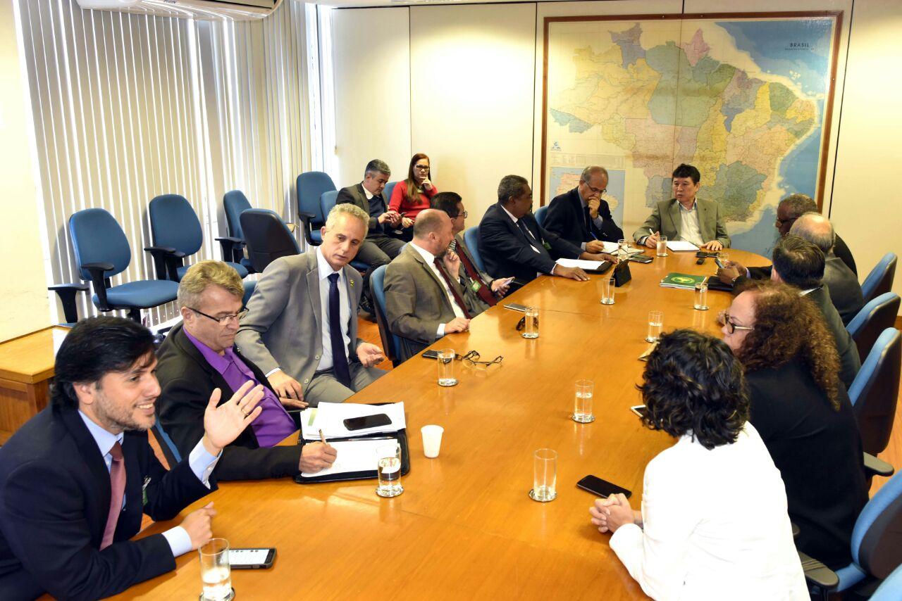 FESERP-MG participa da Reunião da Mesa Permanente de Negociações com Ministério do Planejamento