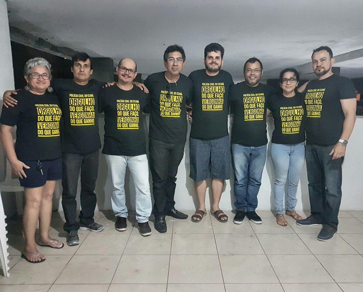 SINPOL/CE lança campanha pela valorização dos policias civis