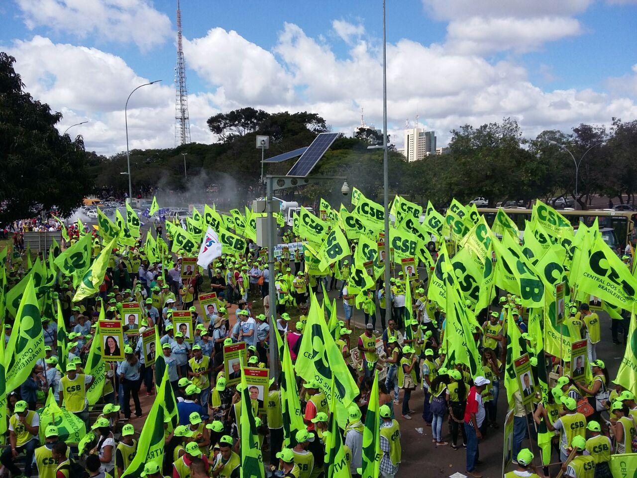 CSB conclama seus dirigentes para estarem em Brasília durante votação da reforma trabalhista