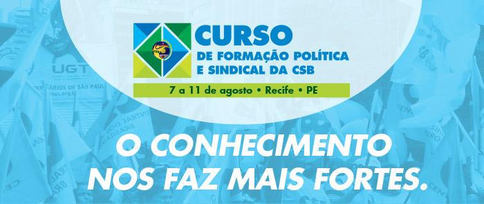 CSB realiza 1º curso de Formação Política e Sindical do Nordeste