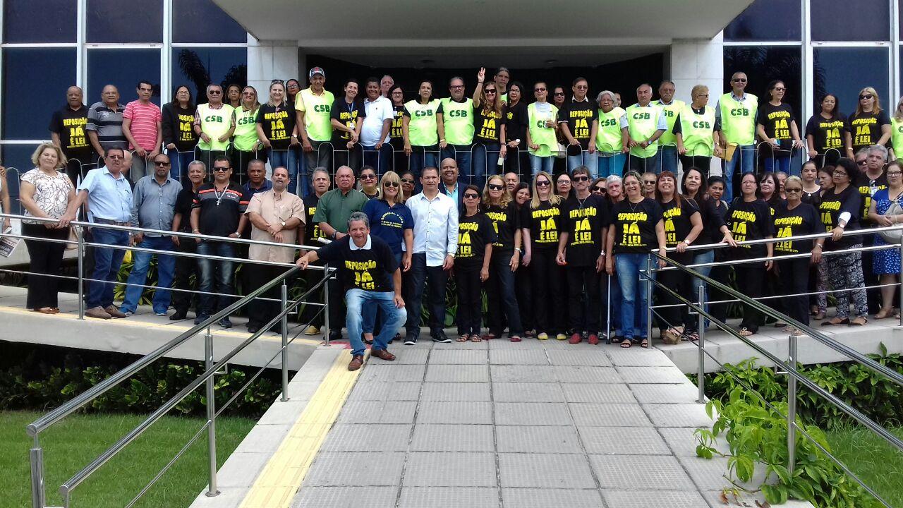 SINTSEP apoia luta por melhores condições de trabalho para servidores do Tribunal de Contas de Alagoas