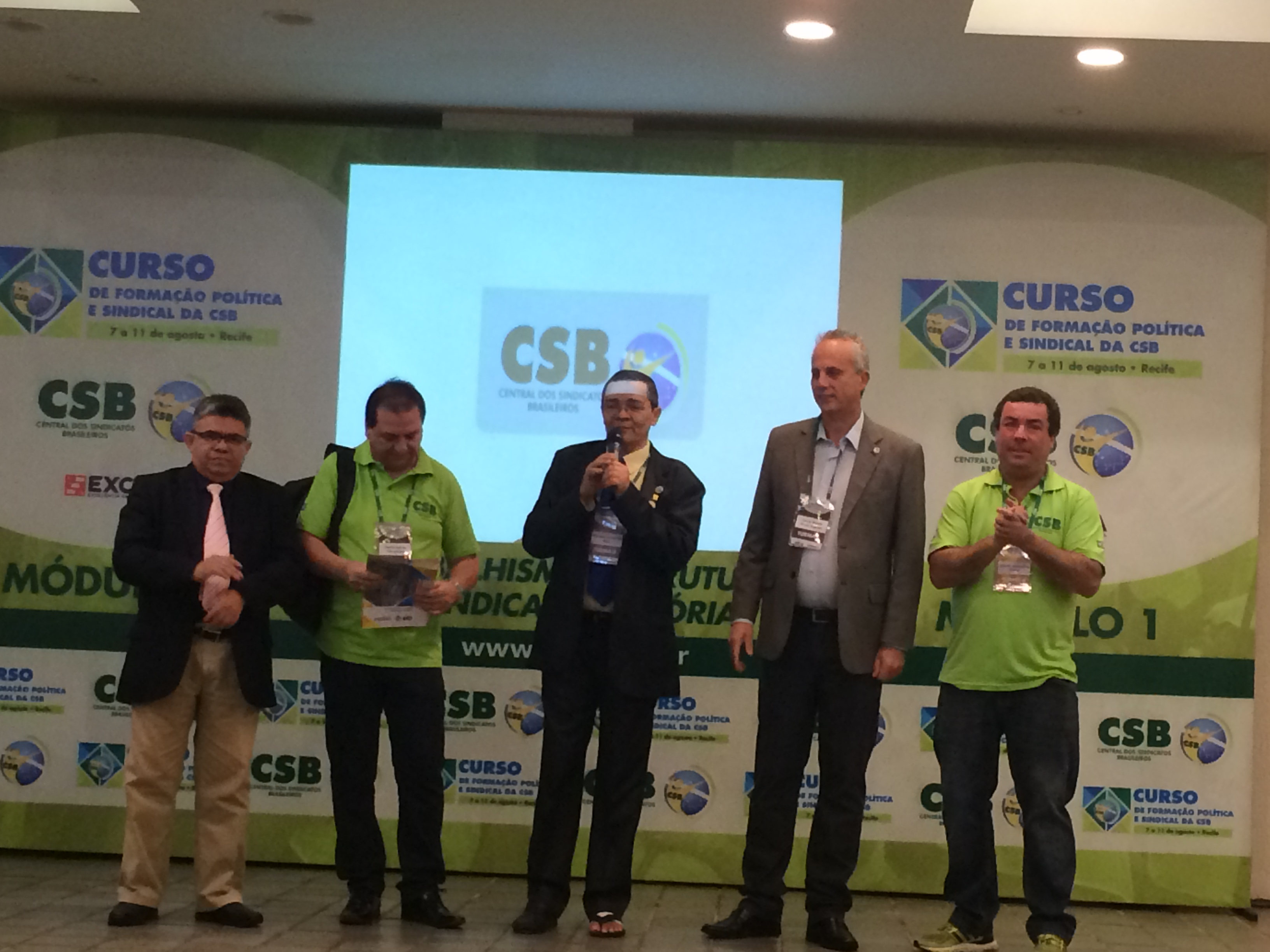 No Nordeste, CSB abre seu primeiro curso de Formação Política e Sindical na região