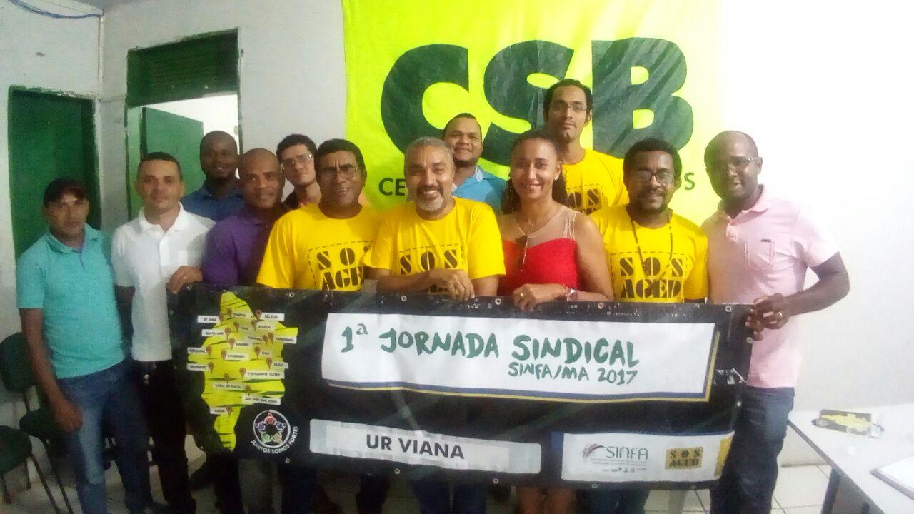 1ª jornada do SINFA/MA passa pela cidade de Viana