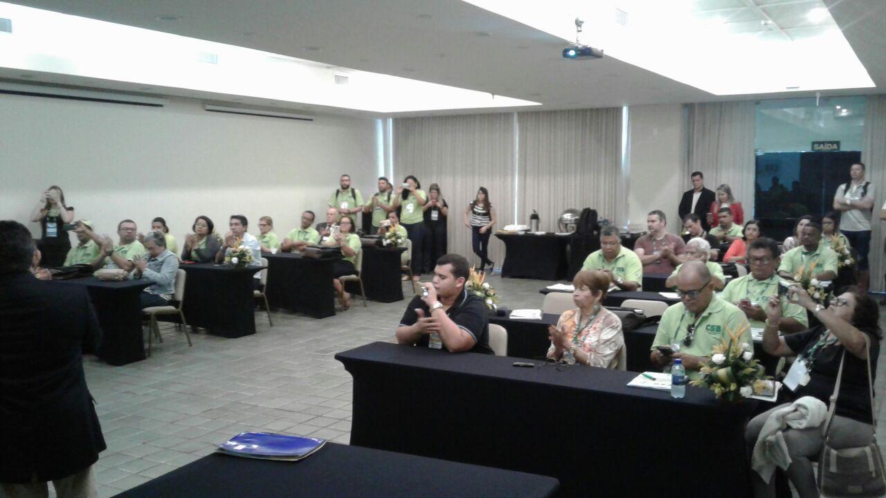 Em Recife, Curso de Formação Sindical reforça e qualifica dirigentes na luta contra a retirada de direitos trabalhistas