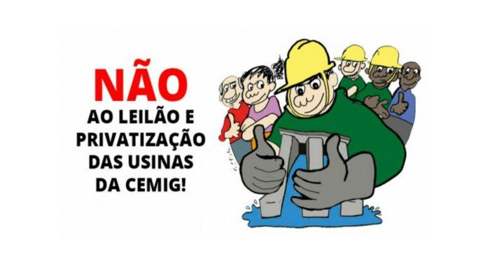 FESERP/MG lança campanha contra a privatização da CEMIG