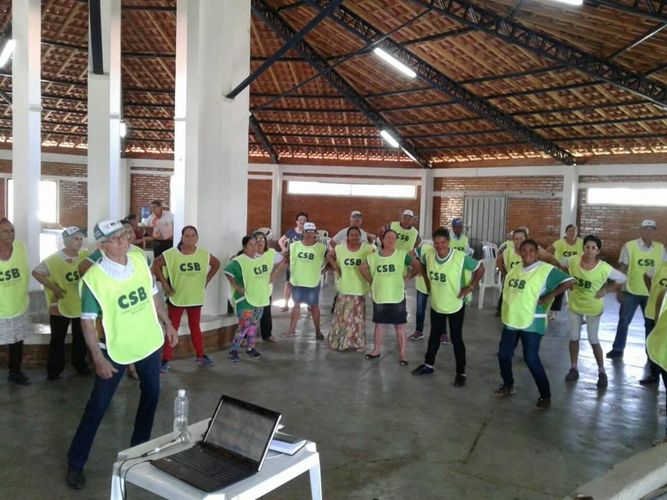 Sindicato dos Trabalhadores Rurais de Sapopema (PR) promove encontro da terceira idade