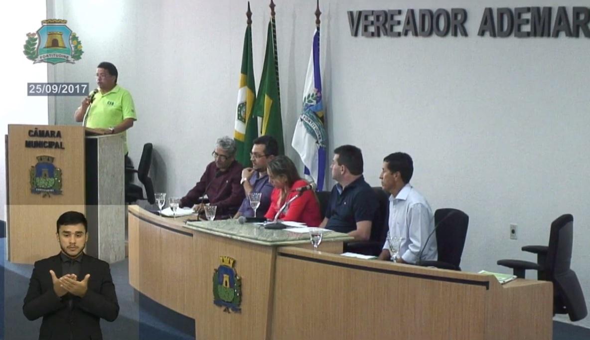 Pela implementação de taxímetro em serviços de mototáxi, CSB participa de audiência pública em Fortaleza