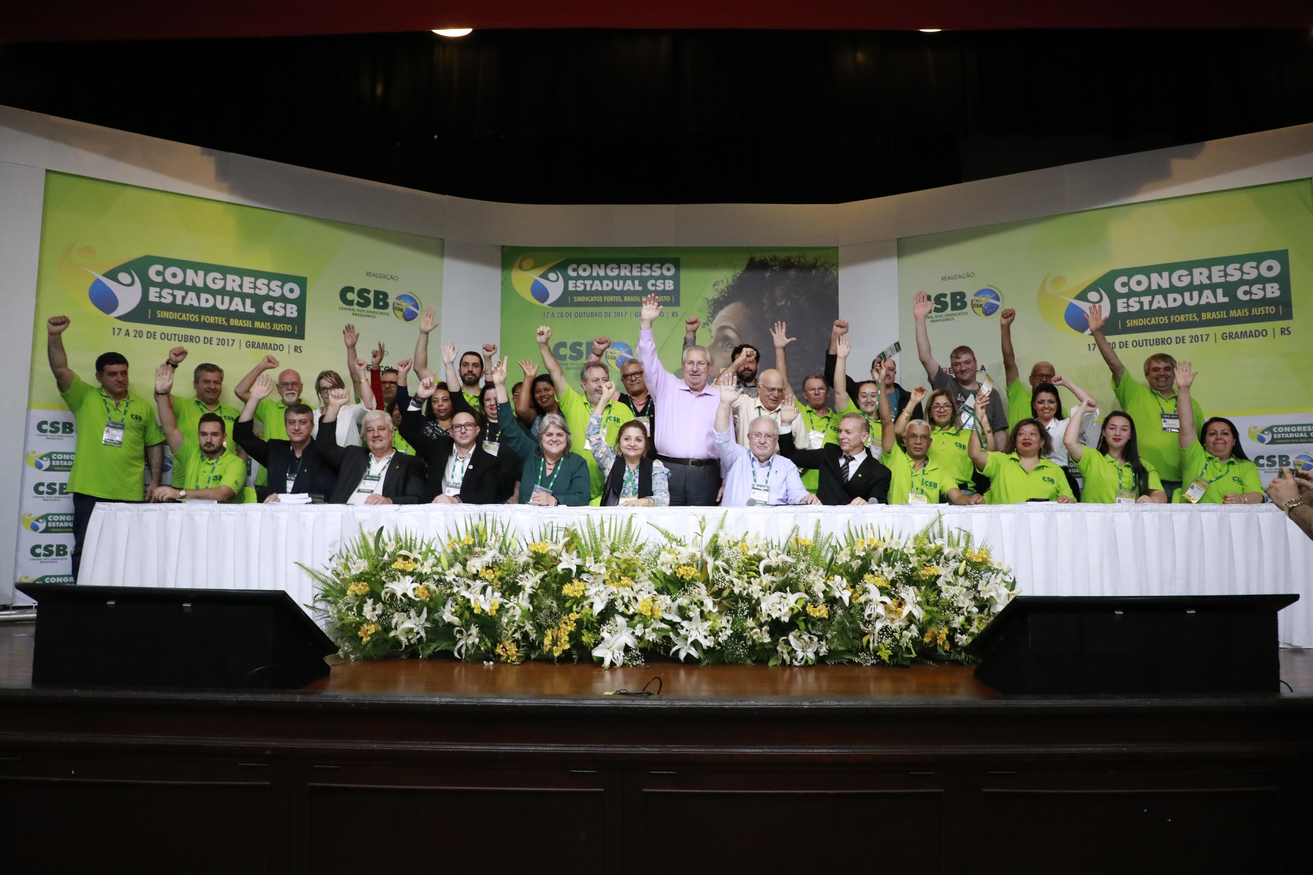 Congresso Estadual do Rio Grande do Sul – 17 a 20 de outubro | 2017