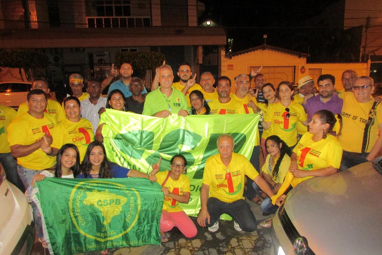 Chapa 1, apoiada pela CSB e FESERP-MG, vence as eleições no Sindicato dos Servidores de Teófilo Otoni