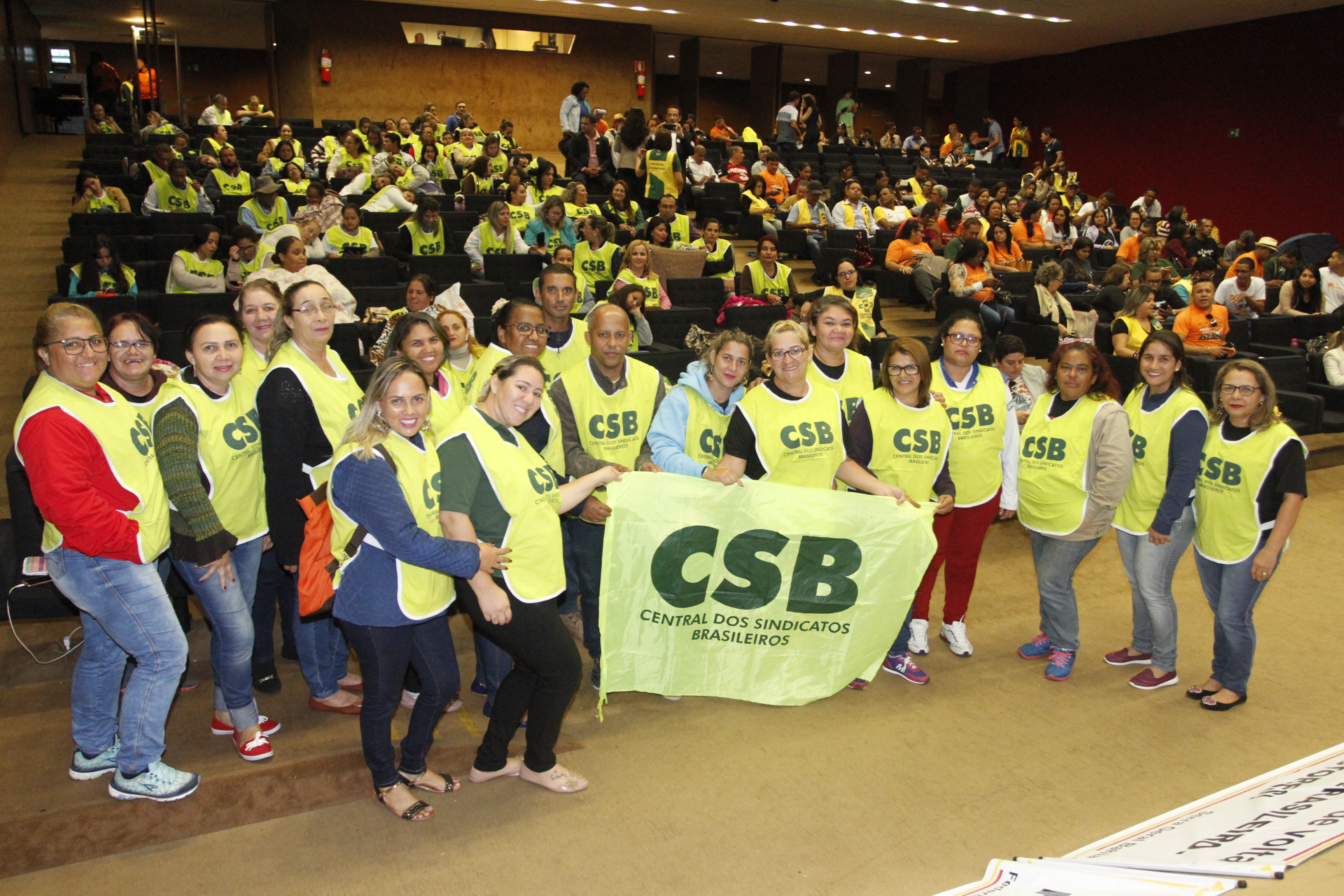 Mobilização dos agentes de saúde em Brasília pela valorização da categoria