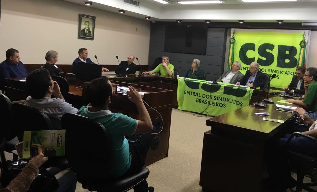 Presidente da CSB faz reuniões com sindicatos no Rio Grande do Sul