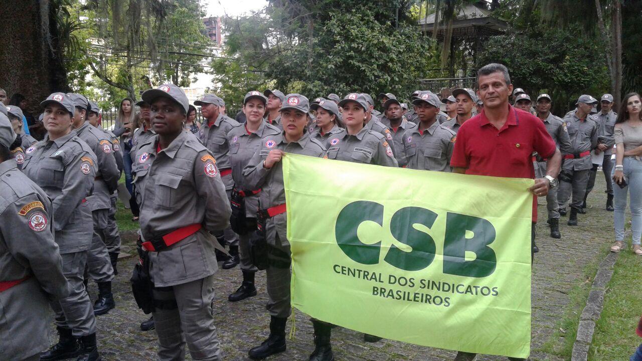 CSB apoia regulamentação de bombeiros civis nos municípios do RJ