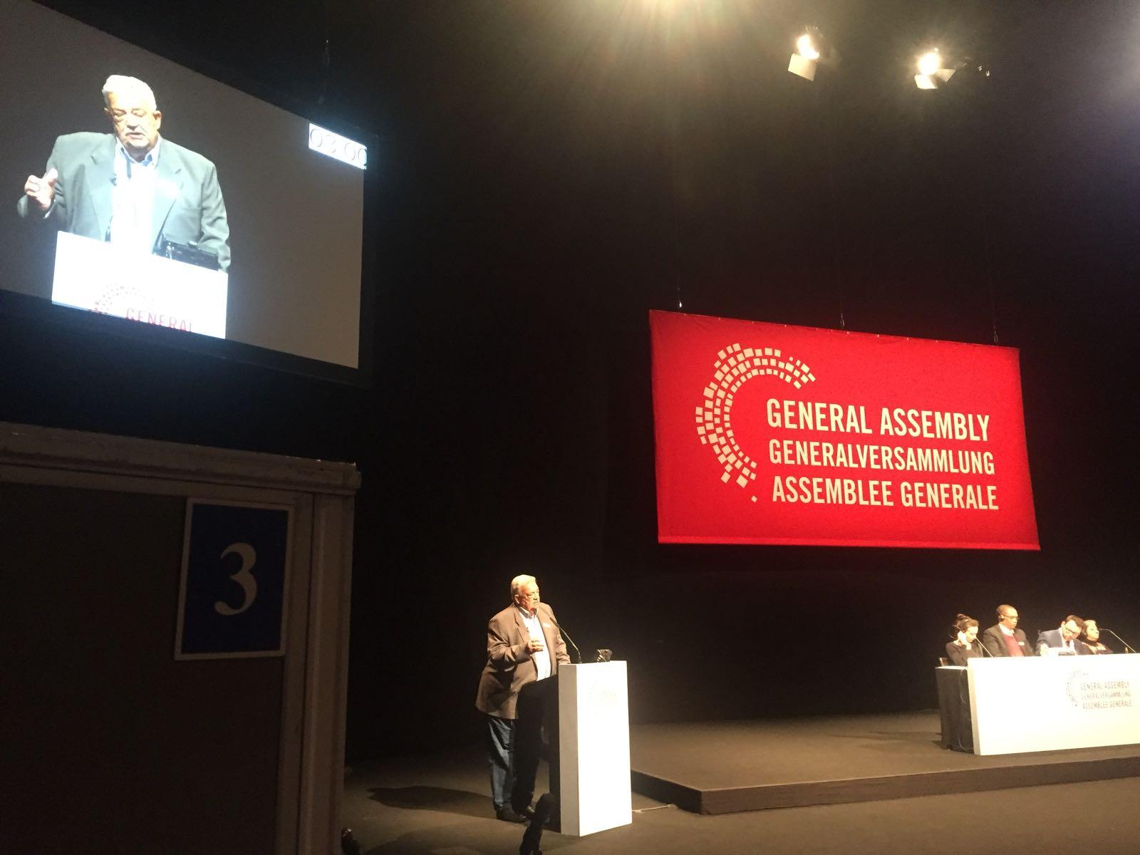 Dirigente da CSB participa, em Berlim, de Assembleia Mundial sobre Violações de Direitos Humanos