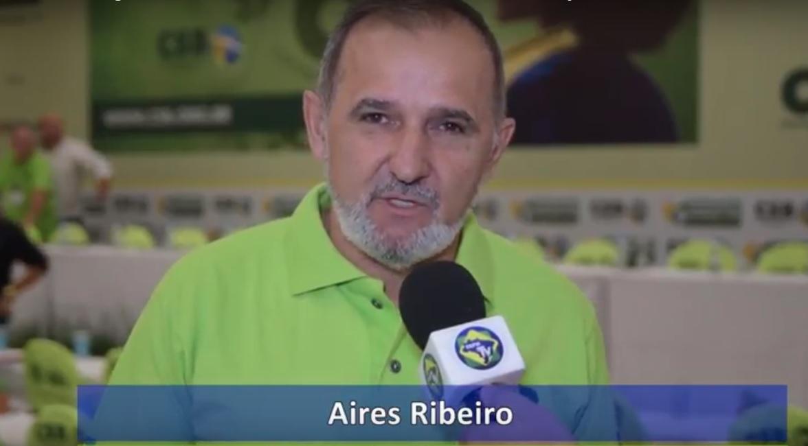 """Aires Ribeiro avalia o Congresso Estadual da CSB: """"Sindicatos fortes, Brasil mais justo"""""""