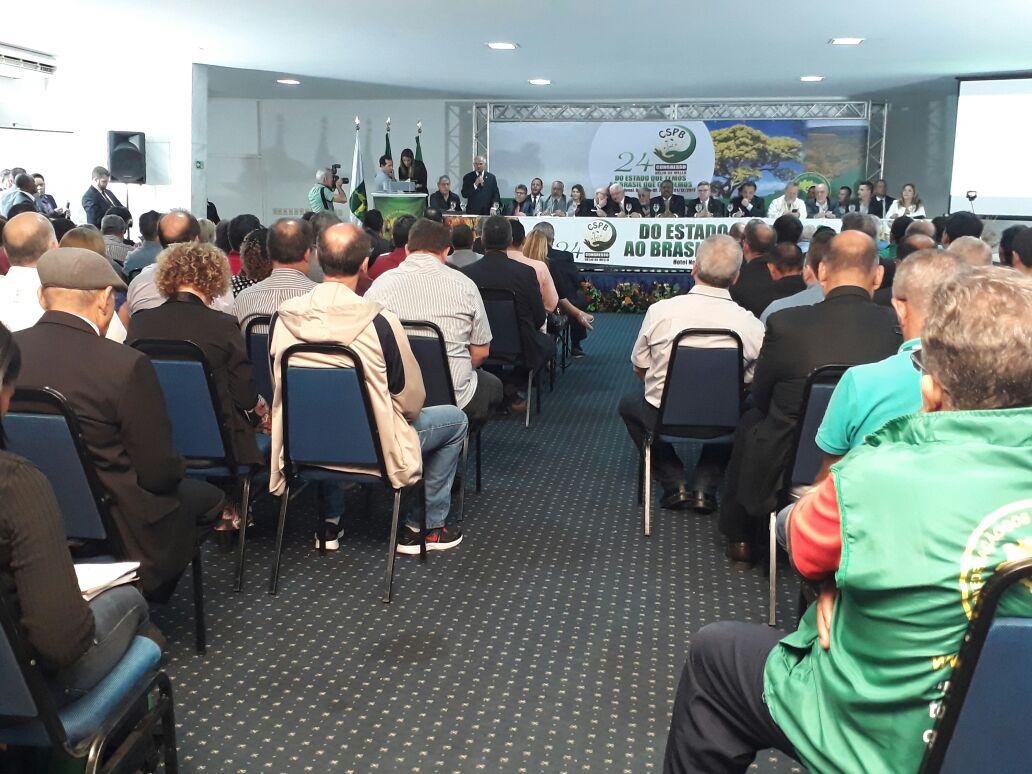 Congresso da CSPB inicia para discutir a realidade dos servidores públicos