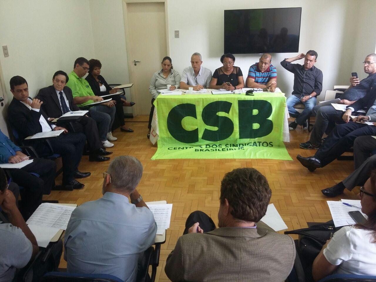 Direção da CSB Minas faz primeira reunião, com foco na mobilização de sexta-feira