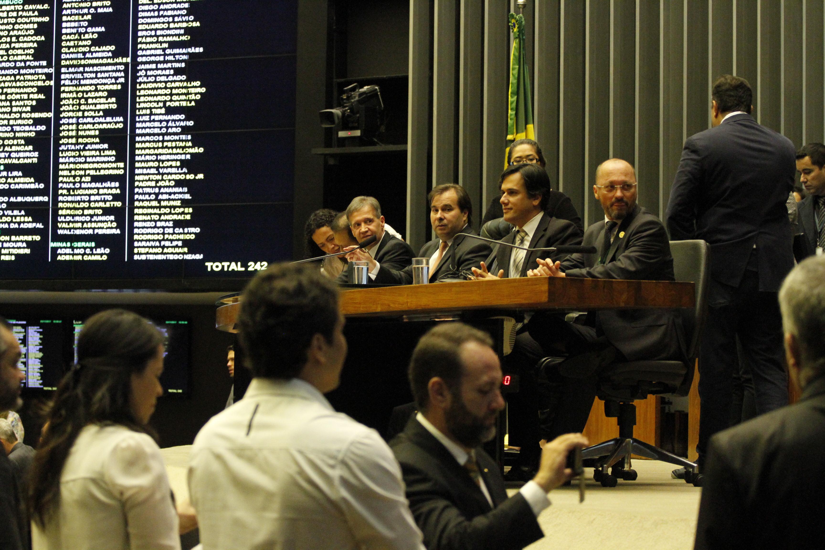 Câmara dos Deputados homenageia o Dia do Policial Federal